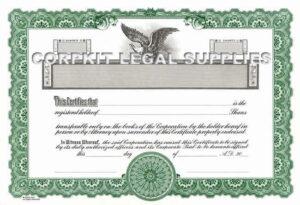 Stock Certificates   Andrew Abramowitz PLLC   New York